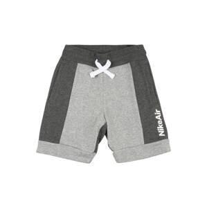 Nike Sportswear Kalhoty  bílá / šedá