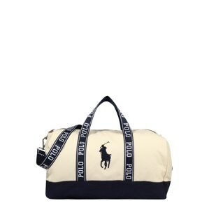 Polo Ralph Lauren Cestovní taška  námořnická modř / béžová