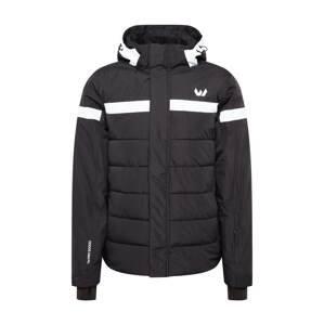 Whistler Outdoorová bunda 'Johan'  černá / bílá