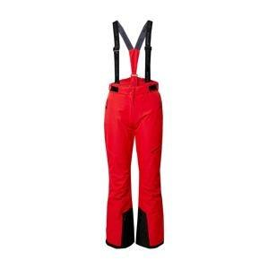 Whistler Outdoorové kalhoty  červená / černá