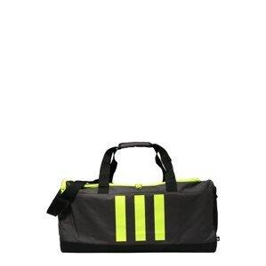 ADIDAS PERFORMANCE Sportovní taška  svítivě zelená / tmavě šedá