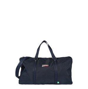 Tommy Jeans Cestovní taška  námořnická modř / bílá / červená