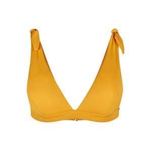 Skiny Horní díl plavek  zlatě žlutá