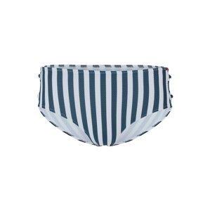 Skiny Spodní díl plavek  noční modrá / bílá