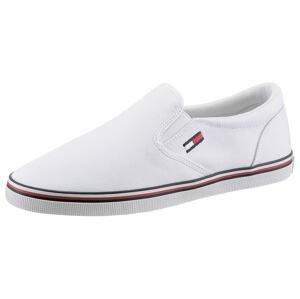 Tommy Jeans Slip on boty  bílá / červená / modrá