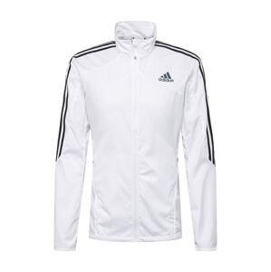 ADIDAS PERFORMANCE Sportovní bunda 'Marathon'  bílá / černá