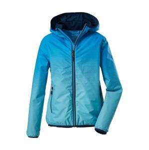 KILLTEC Sportovní bunda 'Lyse'  tyrkysová / královská modrá
