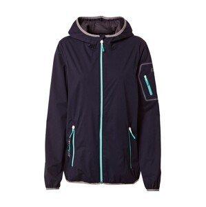 KILLTEC Outdoorová bunda 'Trin'  námořnická modř / nebeská modř / starorůžová