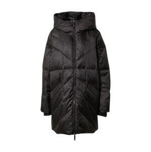 Noisy may Zimní kabát 'NMFELLA LONG L/S JACKET DOWN SP'  černá