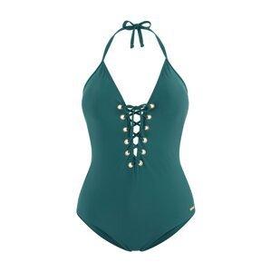 BRUNO BANANI Plavky  zelená