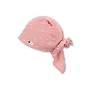 STERNTALER Čepice  růžová / bílá