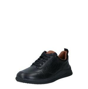 CLARKS Sportovní šněrovací boty 'Puxton'  černá