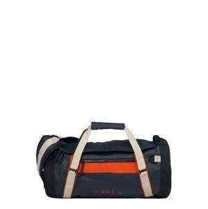 HELLY HANSEN Cestovní taška  námořnická modř / světle šedá / oranžově červená