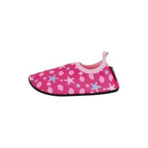 STERNTALER Plážová/koupací obuv  pink / světle růžová / světlemodrá