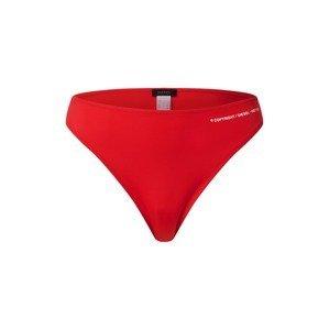 DIESEL Spodní díl plavek  červená