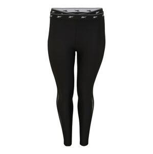 Reebok Sport Sportovní kalhoty 'Studio'  černá / bílá