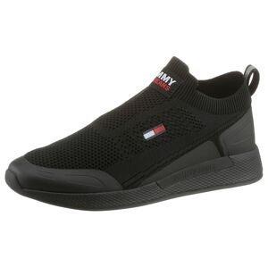 Tommy Jeans Slip on boty  černá / bílá / červená