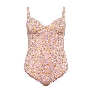 Cotton On Curve Plavky  zlatě žlutá / bílá / tmavě fialová / světle fialová