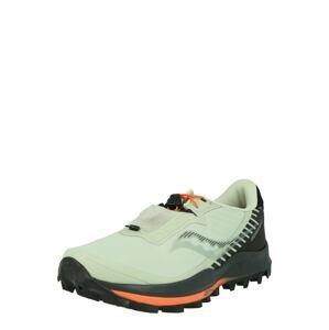 saucony Běžecká obuv 'PEREGRINE 11 ST'  pastelově zelená / černá