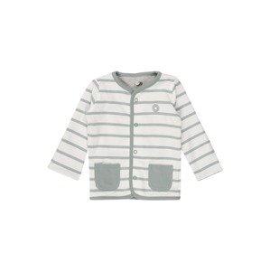 SIGIKID Pletená bunda  šedá / bílá
