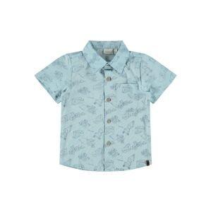 NAME IT Košile 'Dritte'  kouřově modrá / šedá