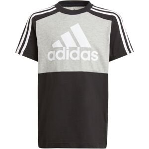 ADIDAS PERFORMANCE Funkční tričko  černá / šedý melír / bílá