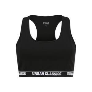 Urban Classics Curvy Podprsenka  černá