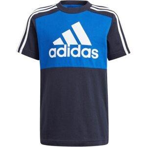 ADIDAS PERFORMANCE Funkční tričko  modrá / tmavě modrá / bílá