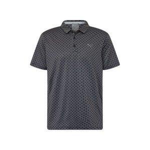 PUMA Funkční tričko  černá / tmavě šedá