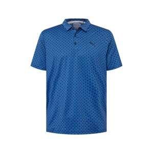 PUMA Funkční tričko  tmavě modrá / nebeská modř