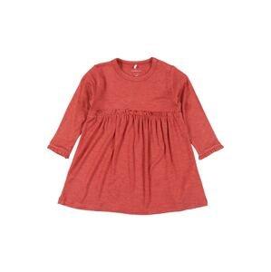 NAME IT Šaty 'DIANA'  červená / červený melír