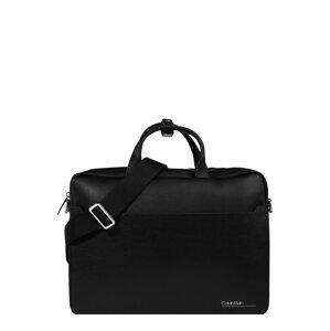 Calvin Klein Taška na notebook  černá