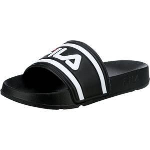 FILA Plážová/koupací obuv 'Morro Bay'  černá / bílá / červená