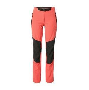 ICEPEAK Outdoorové kalhoty  starorůžová / bílá / černá