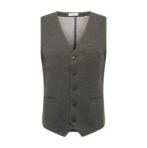 TOM TAILOR Vesta k obleku  tmavě šedá