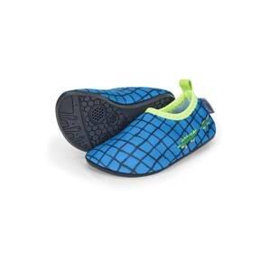 STERNTALER Plážová/koupací obuv  modrá / námořnická modř / kiwi / zelená