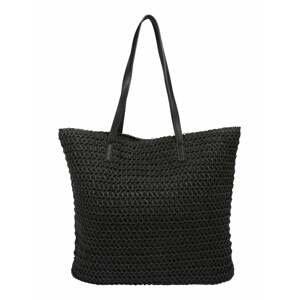 VERO MODA Plážová taška 'SISSO'  černá