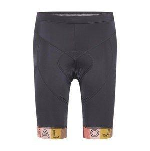 Maloja Sportovní kalhoty 'Telvet'  černá / růžová / hořčicová / pink / světle červená