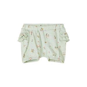 NAME IT Kalhoty 'Feline'  pastelově zelená / růžová