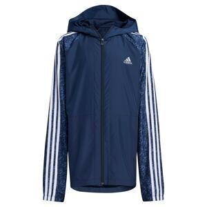 ADIDAS PERFORMANCE Sportovní bunda  bílá / modrá