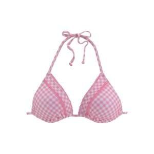 BUFFALO Horní díl plavek  bílá / pink