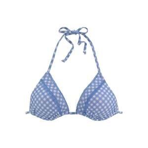 BUFFALO Horní díl plavek  modrá / bílá