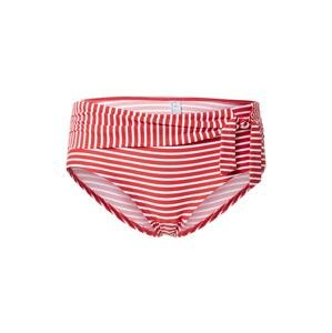 ESPRIT Spodní díl plavek 'GRENADA'  červená / bílá
