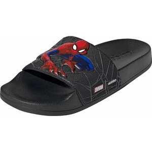 ADIDAS PERFORMANCE Plážová/koupací obuv 'Adilette'  černá / červená / modrá / bílá
