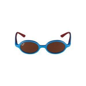 Ray-Ban Sluneční brýle '0RJ9145S'  modrá / hnědá