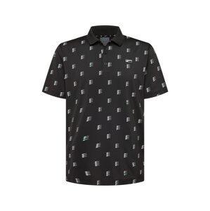 PUMA Funkční tričko  černá / světle šedá