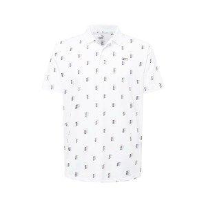 PUMA Funkční tričko  bílá / černá / světle zelená