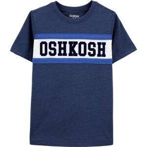 OshKosh Tričko  tmavě modrá / bílá