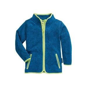 PLAYSHOES Fleecová mikina  královská modrá / svítivě modrá