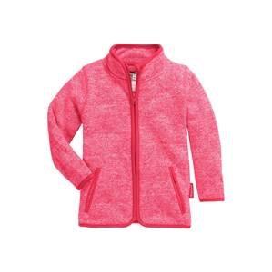 PLAYSHOES Fleecová mikina  pink / světle růžová